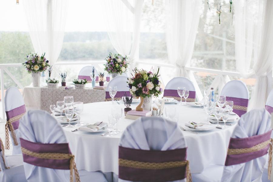 Шик и простота свадьбы в стиле Прованс:Площадки
