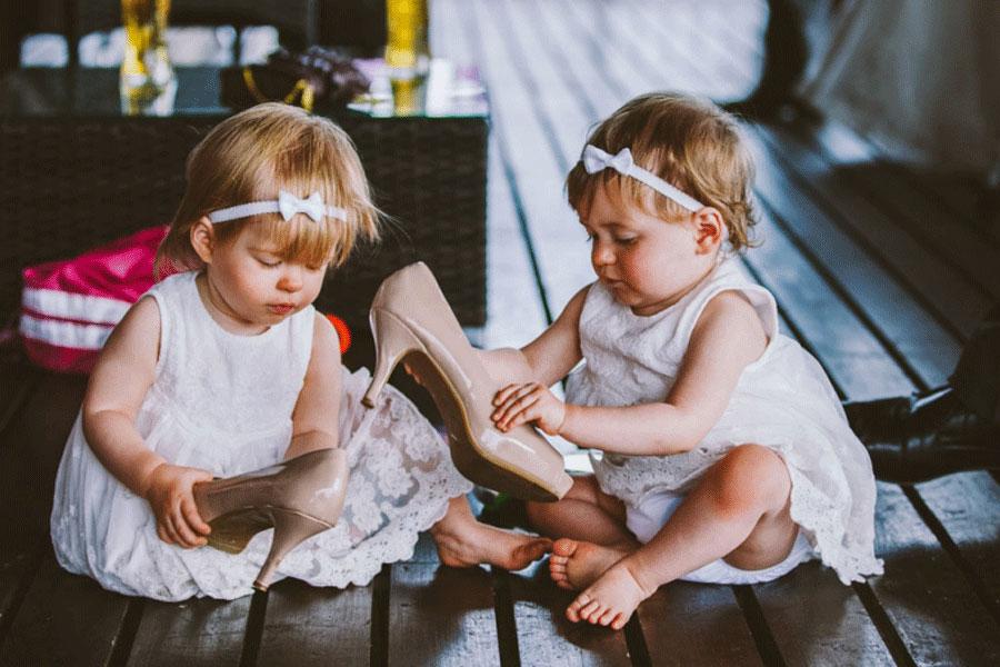 Дети на свадьбе: секреты от слёз и истерик