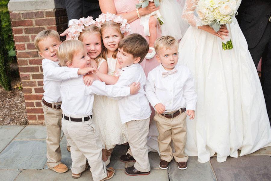 Дети на свадьбе – как быть?