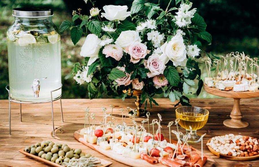 Рекомендации при организации свадебного бранча