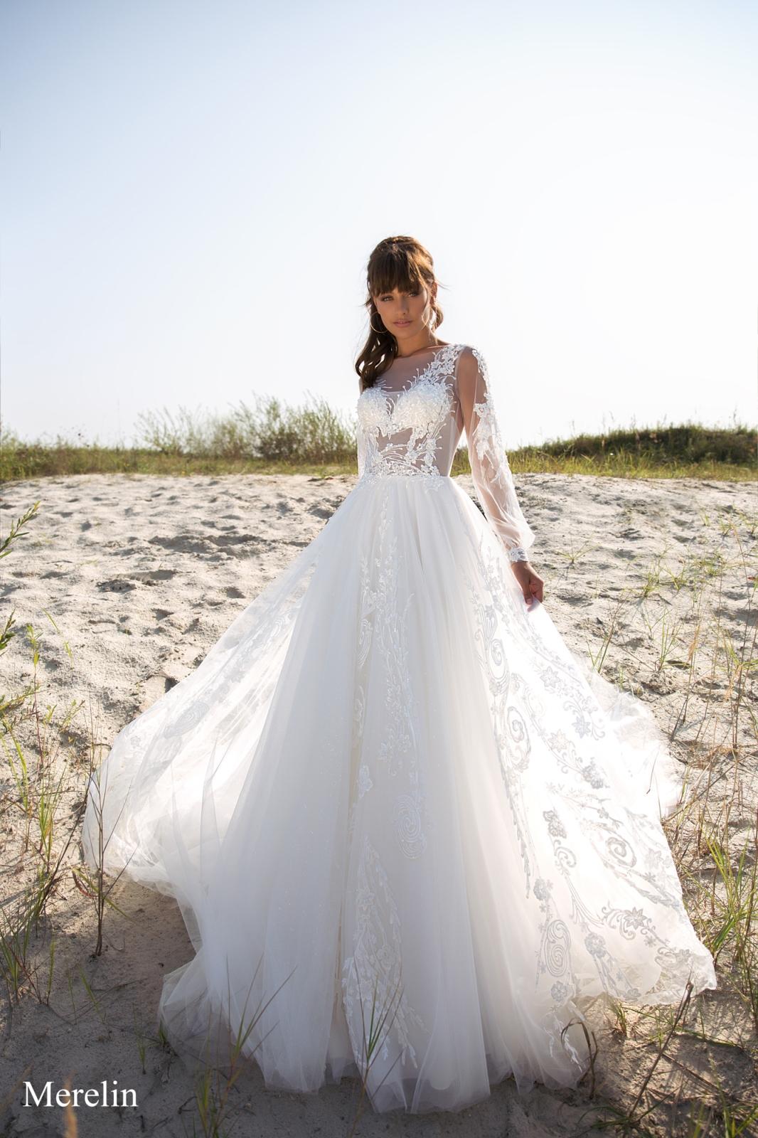 Свадебные платья в стиле бохо шик 4