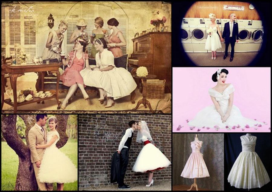 Свадьба в стиле pin-up:Исторические корни