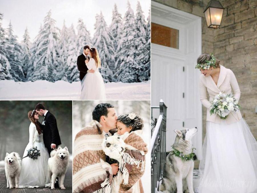 Ключевые достоинства церемонии зимой