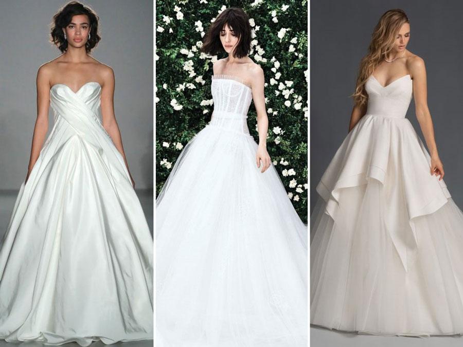 Тенденции свадебной моды 2020 Бальные платья