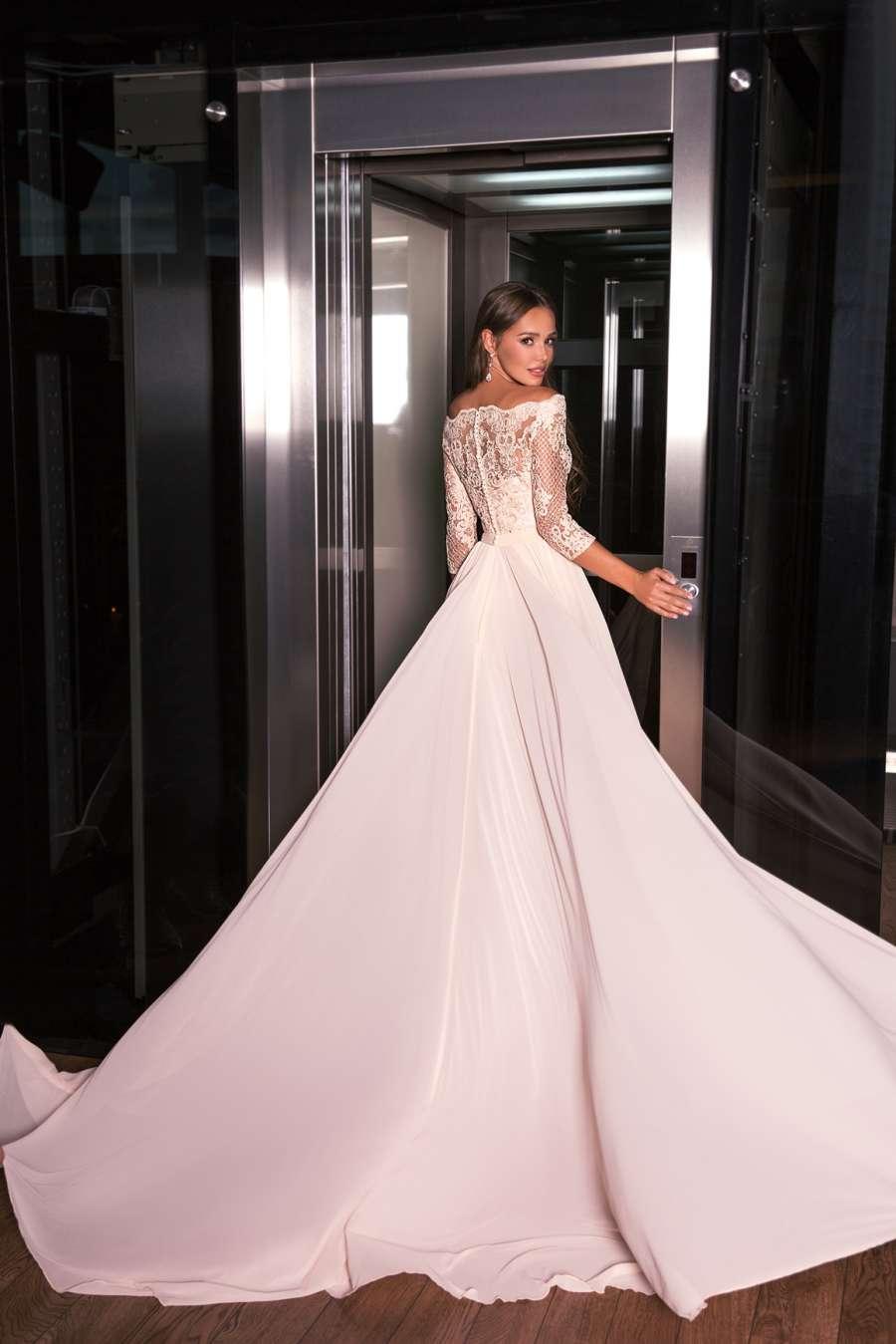 вечерние платья с длинными рукавами