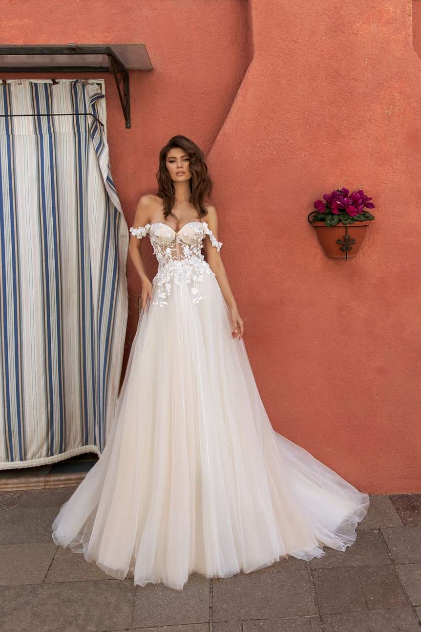 свадебное платье Moresina