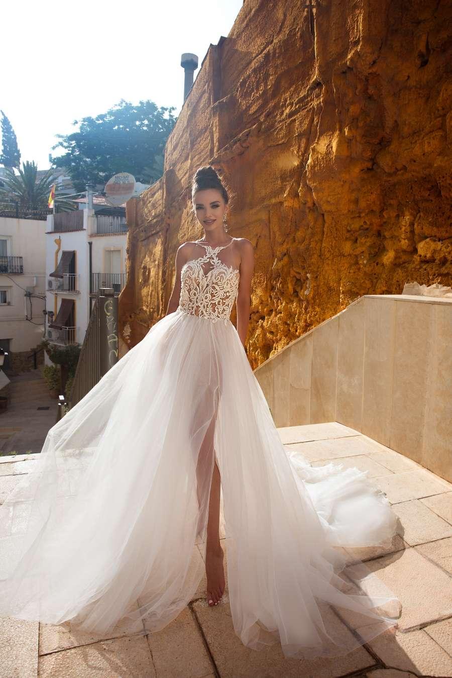 Свадебные платья в стиле бохо шик 3