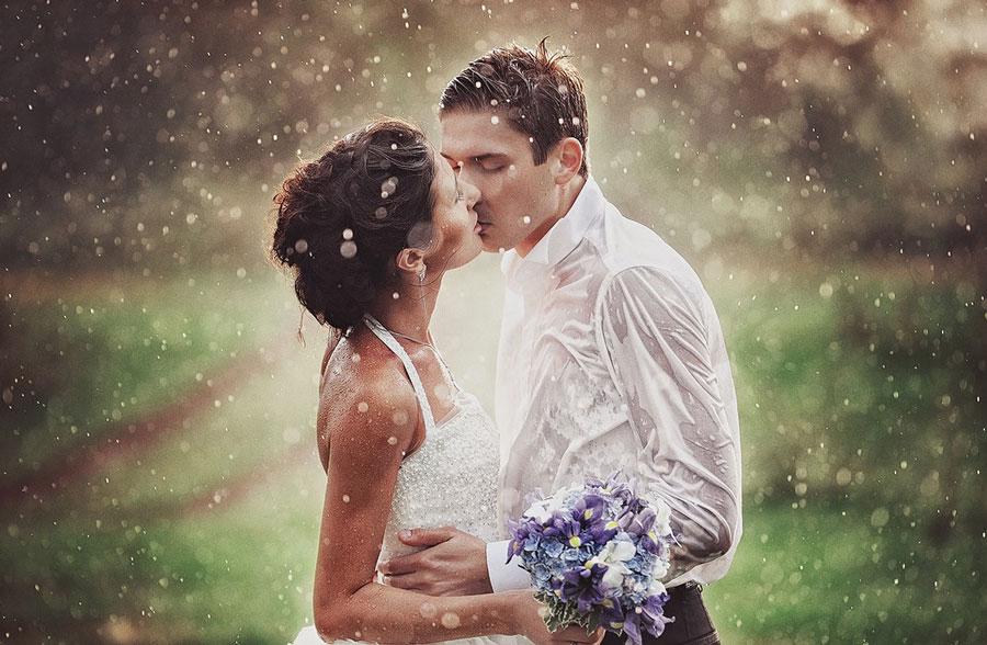 Обещают дождь на свадьбу;подготовь место