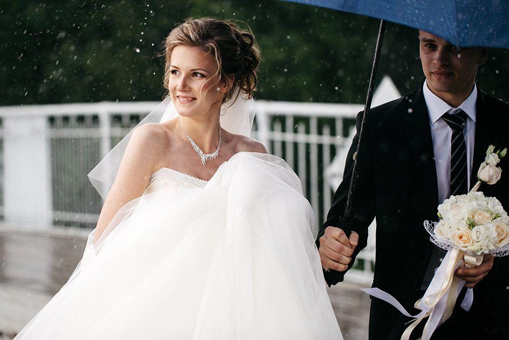 Обещают дождь на свадьбу;подготовь наряд