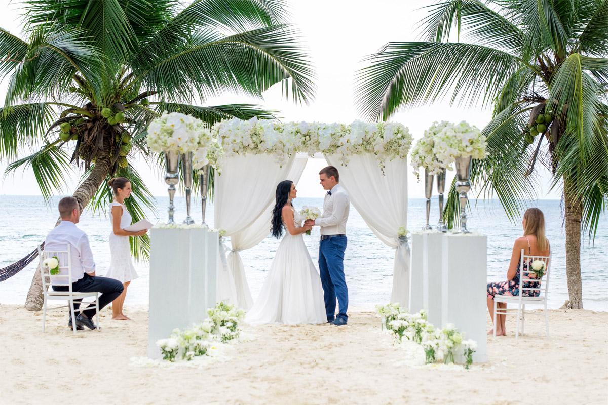 свадьбы на морском побережье время церемонии