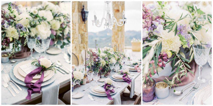 Шик и простота свадьбы в стиле Прованс:Оформление