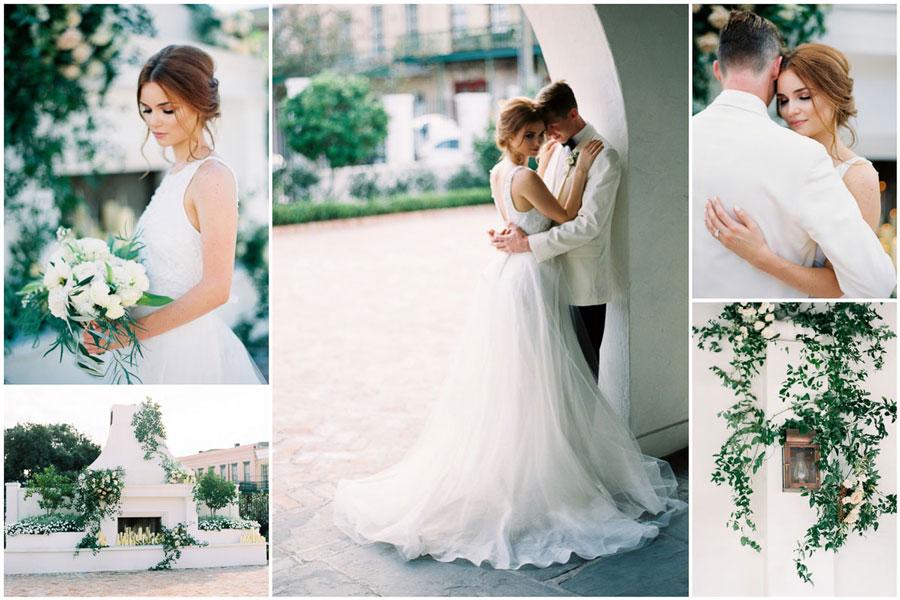 Как сделать свадьбу в зеленом?