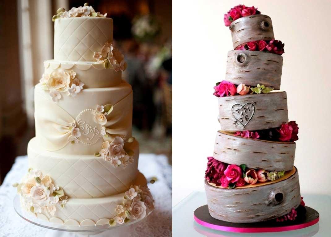Какими бывают торты для свадьбы