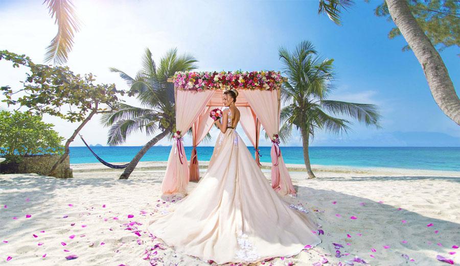 Советы по организации свадьбы на берегу моря
