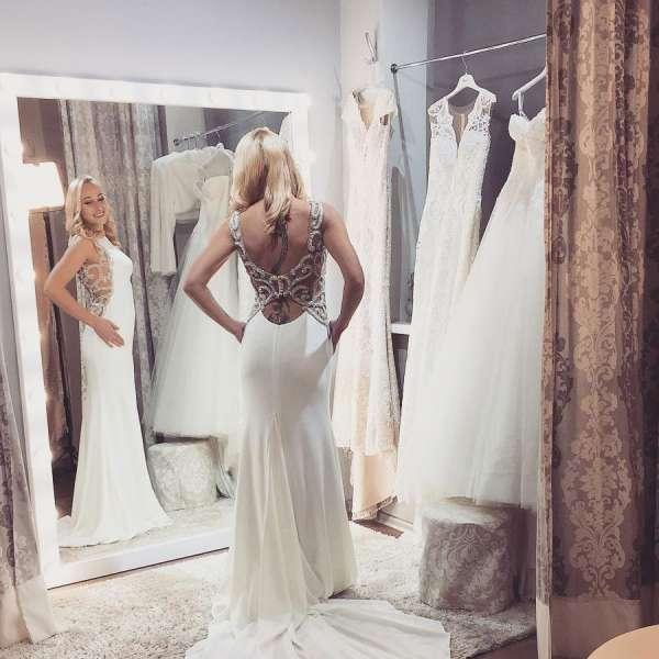 Бесплатная подгонка свадебного платья