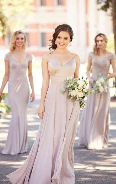 Платье для подружки невесты. Особенности, интересные детали.