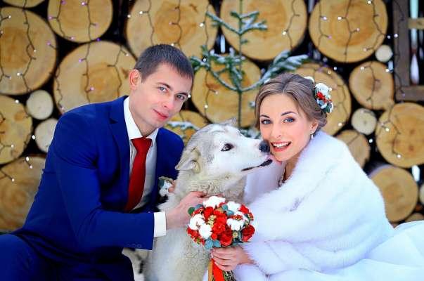 Зимние накидки для невест: шубки и болеро
