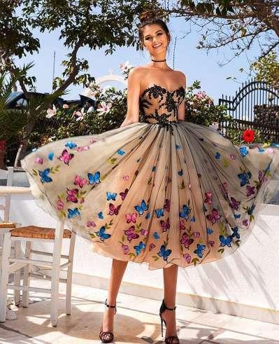 Вечернее платье на выпускной в Киеве. Какое выбрать, длинное или короткое?
