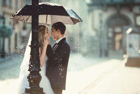 Обещают дождь на свадьбу? Только не раскисай!
