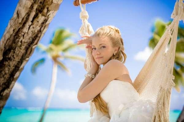 Макияж для пляжной свадьбы (часть 1)