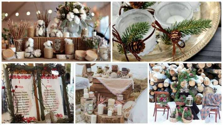 Как организовать незабываемую свадьбу зимой