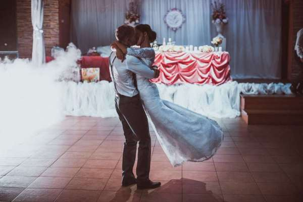Свадебные моменты. Первый вальс