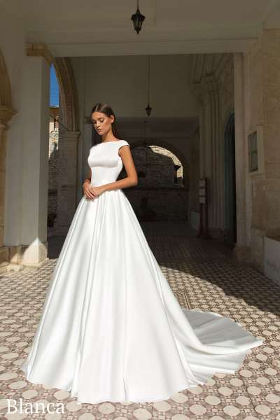 Модные элегантные платья невесты