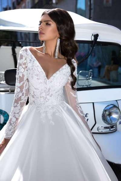 Какие бывают рукава на свадебных платьях