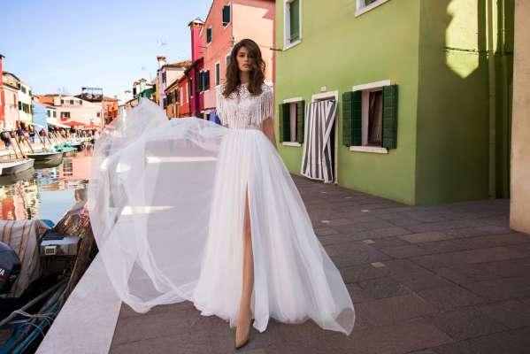 Свадебное платье в стиле бохо: свобода и новая сексуальность