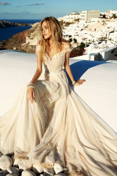 Свадебные платья в стиле бохо, рустик и эко