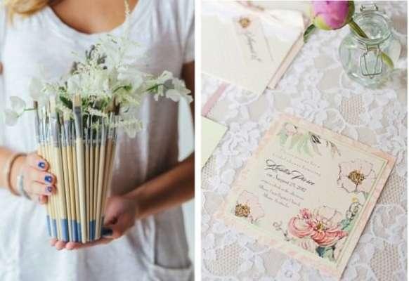 Акварельная свадьба: идеи, декор, сценарий