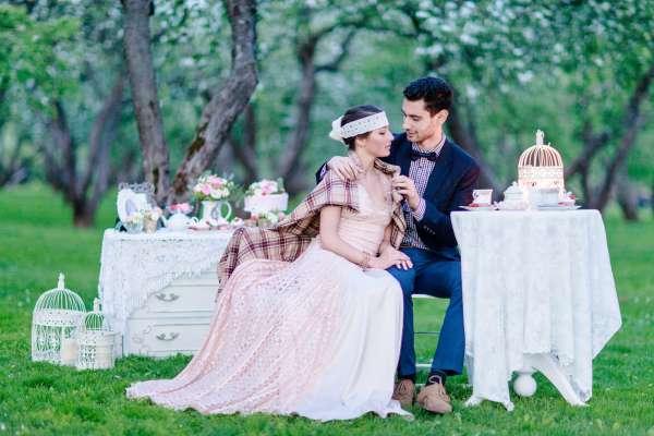 Свадебные церемонии: ретро-Голливуд, дань Востоку или английский стиль