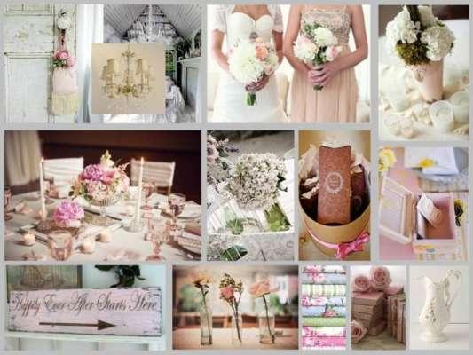 Свадьба в стиле «шебби шик»