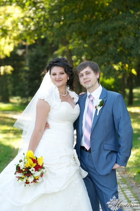 Невеста Таня и Валера