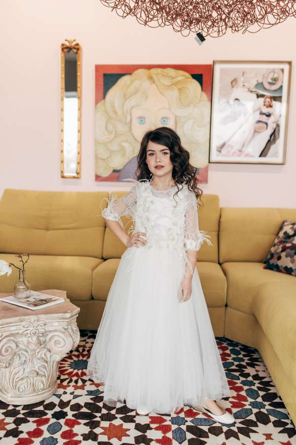 Детское платье №2012