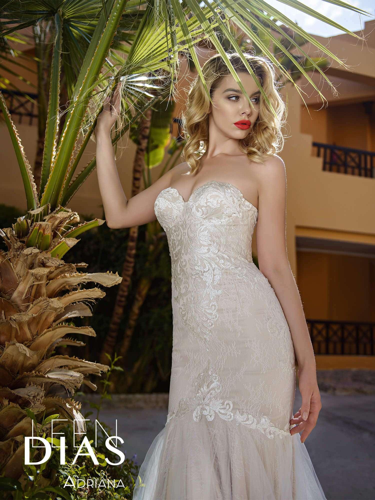Следите за модой? Свадебные платья и фаты Leen Dias