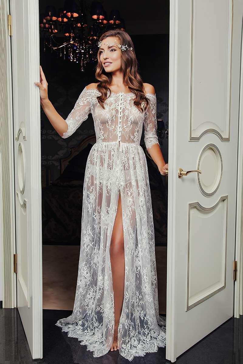 Будуарное платье №202