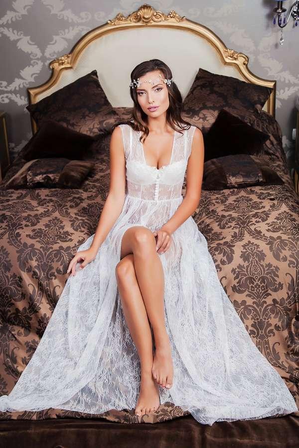 Будуарное платье №213