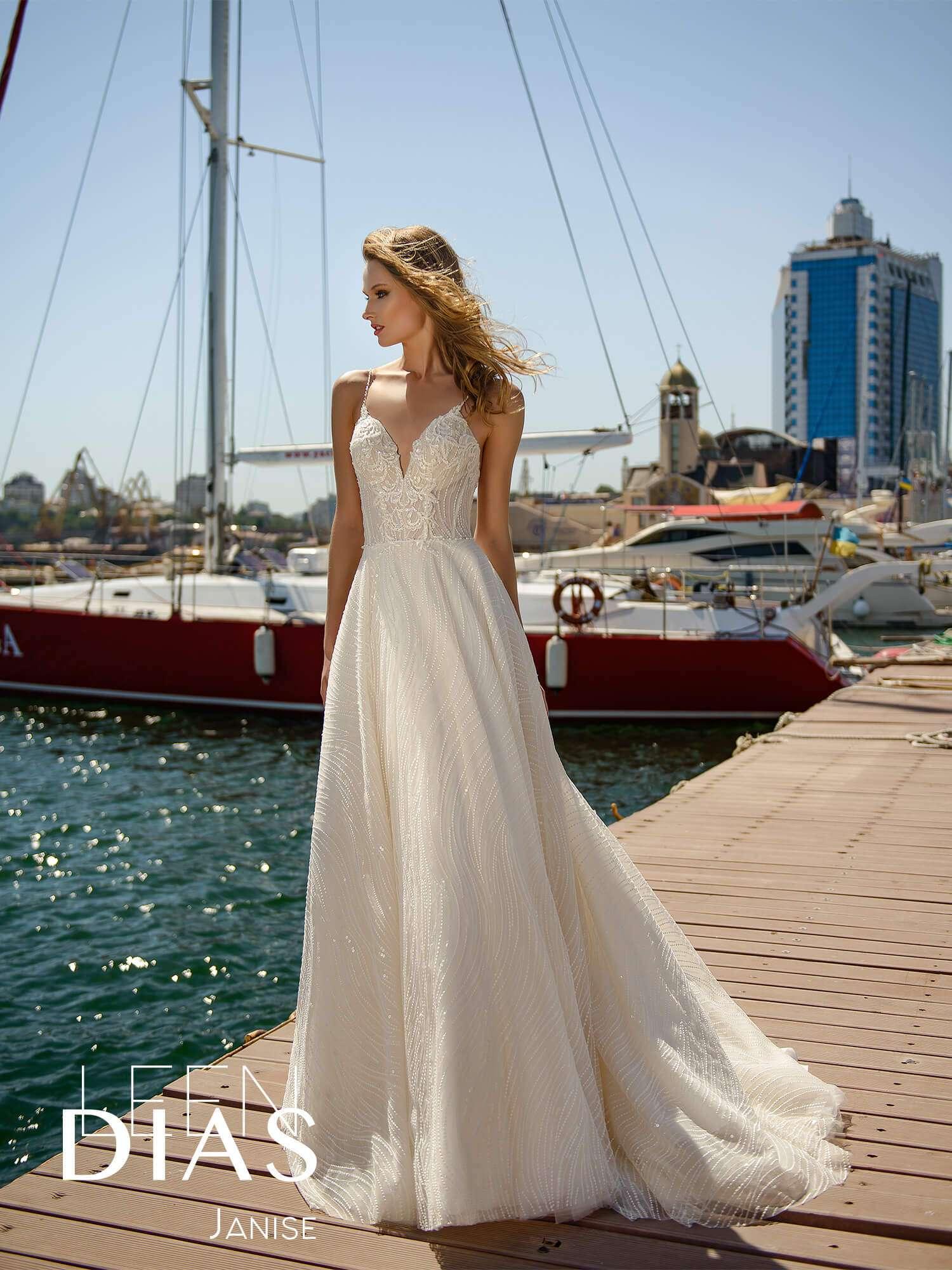 Платья на роспись для невесты