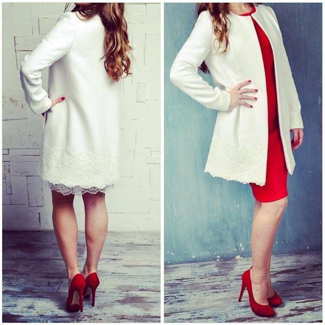 Свадебное пальто М20151