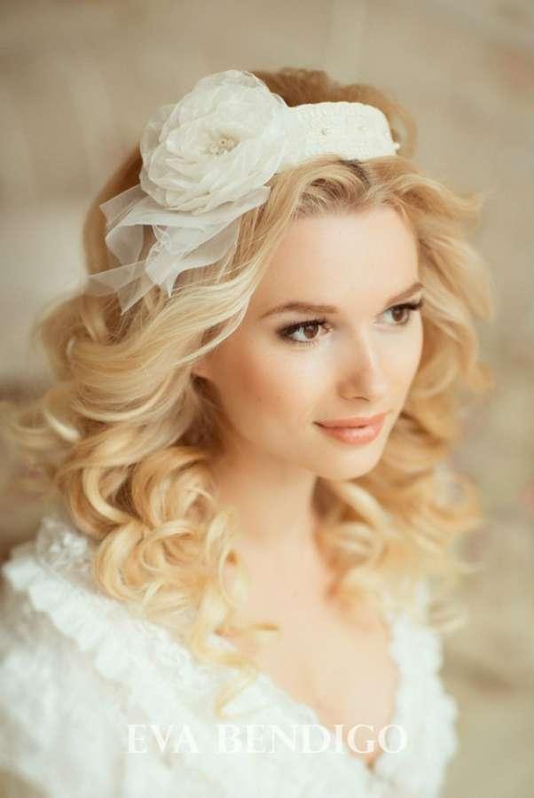 Свадебный ободок №1