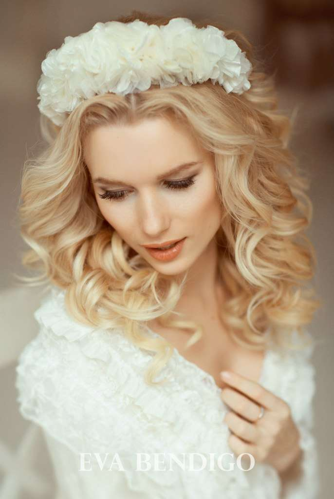 Свадебный ободок №2