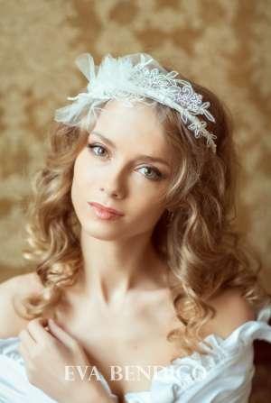 Свадебный ободок №3