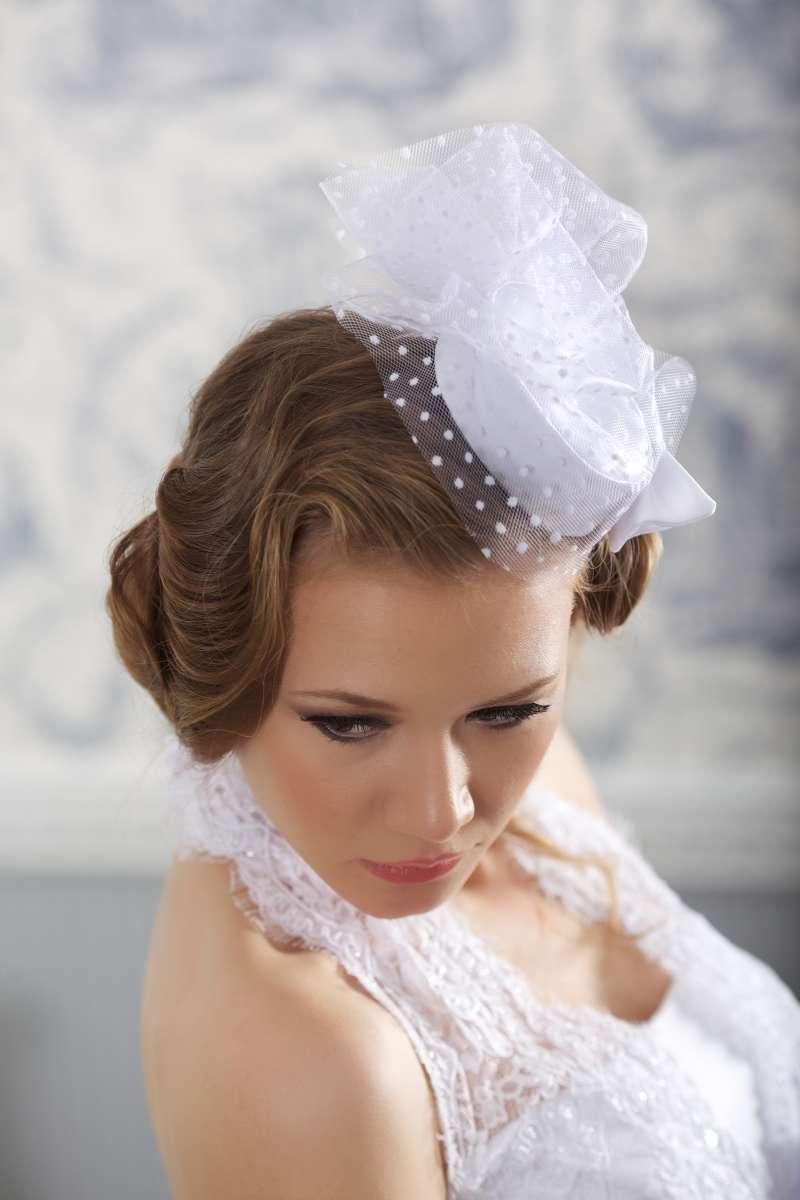 Свадебная шляпка №3