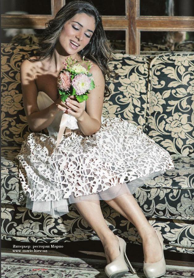 """Фотосессия Златы Огневич в платьях от салона """"Мадейра"""""""