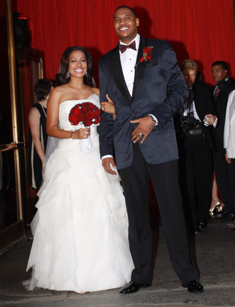 La-La-Vasquez-and-Carmelo-Anthony-wedding